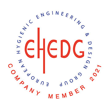 WE ARE A PROUND COMPANY MEMBER OF EHEDG
